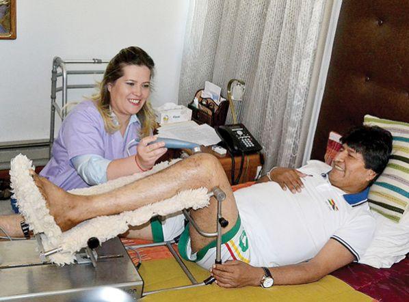 Problemas de rodilla llevaron a Morales a dos intervenciones quirúrgicas / ABI