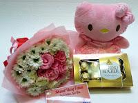 Buket Bunga Indah Untuk Hadiah Ulang Tahun Area Mojokerto - Agustina Florist