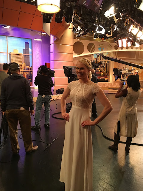 How to Save Money on Your Wedding with Windy City LIve: Rent this gorgeous dress at Rent the Runway | all dressed up with nothing to drink...