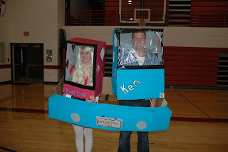 Ken and Barbie  Halloween costumes