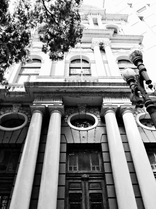 """Sede do jornal """"A Federação"""", atual Museu da Comunicação, Porto Alegre"""
