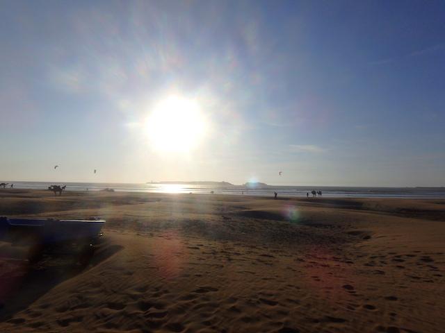 Essaouira beach, Morocco.