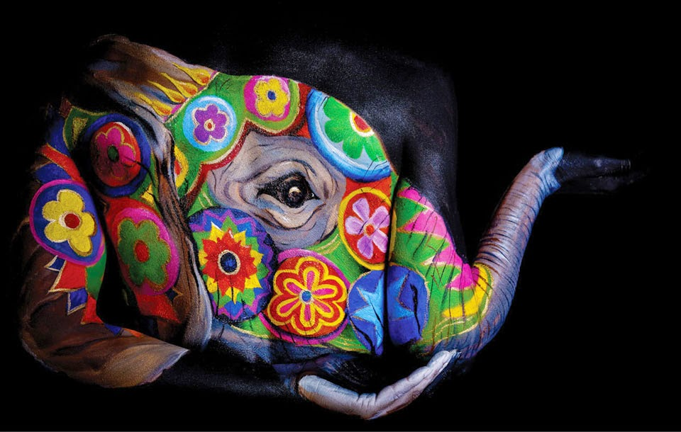 16-Elephant-Mandala-Emma-Fay-You-as-a-Canvas-in-Body-Painting-www-designstack-co