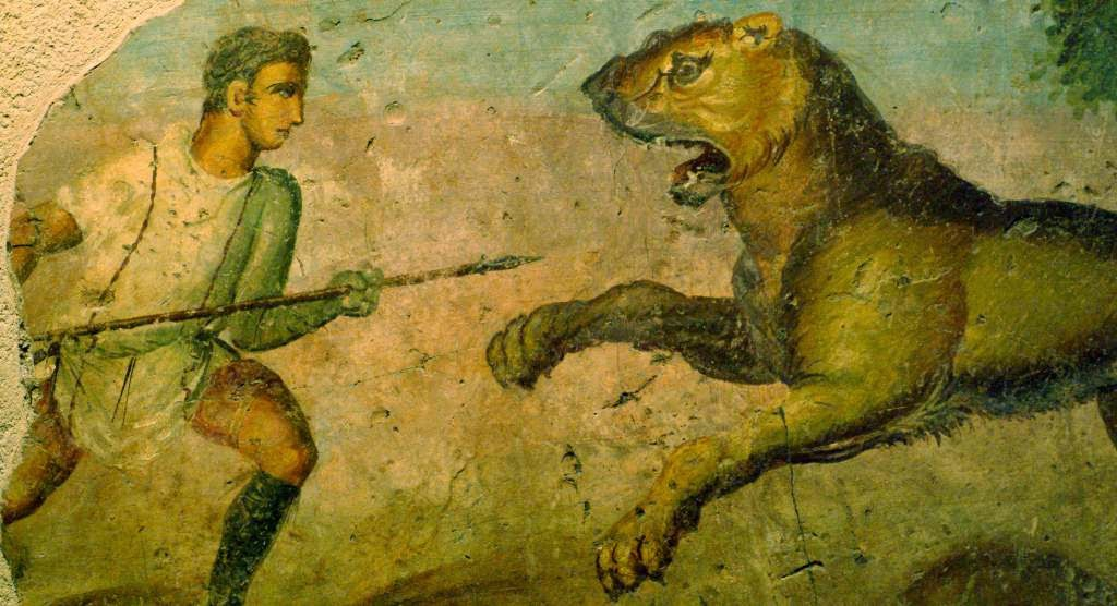 Caza en Derecho romano