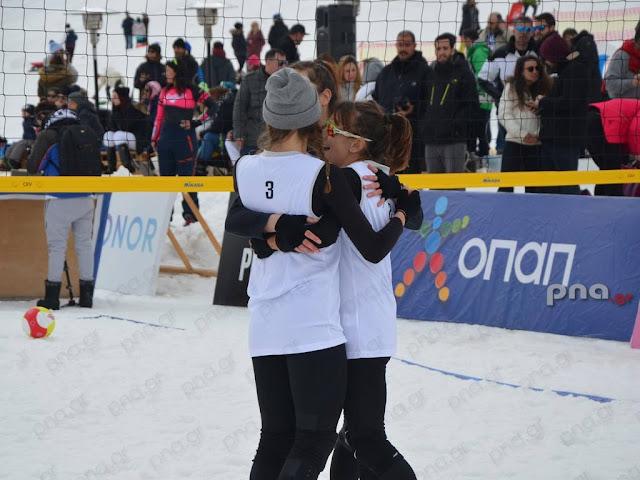 Με επιτυχία το 2ο Πανελλήνιο Πρωτάθλημα Snow Volley στο Μαίναλο