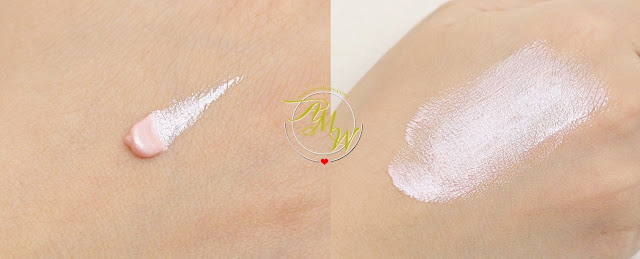 a swatch photo of NYX Born To Glow Liquid Illuminator (Sunbeam)