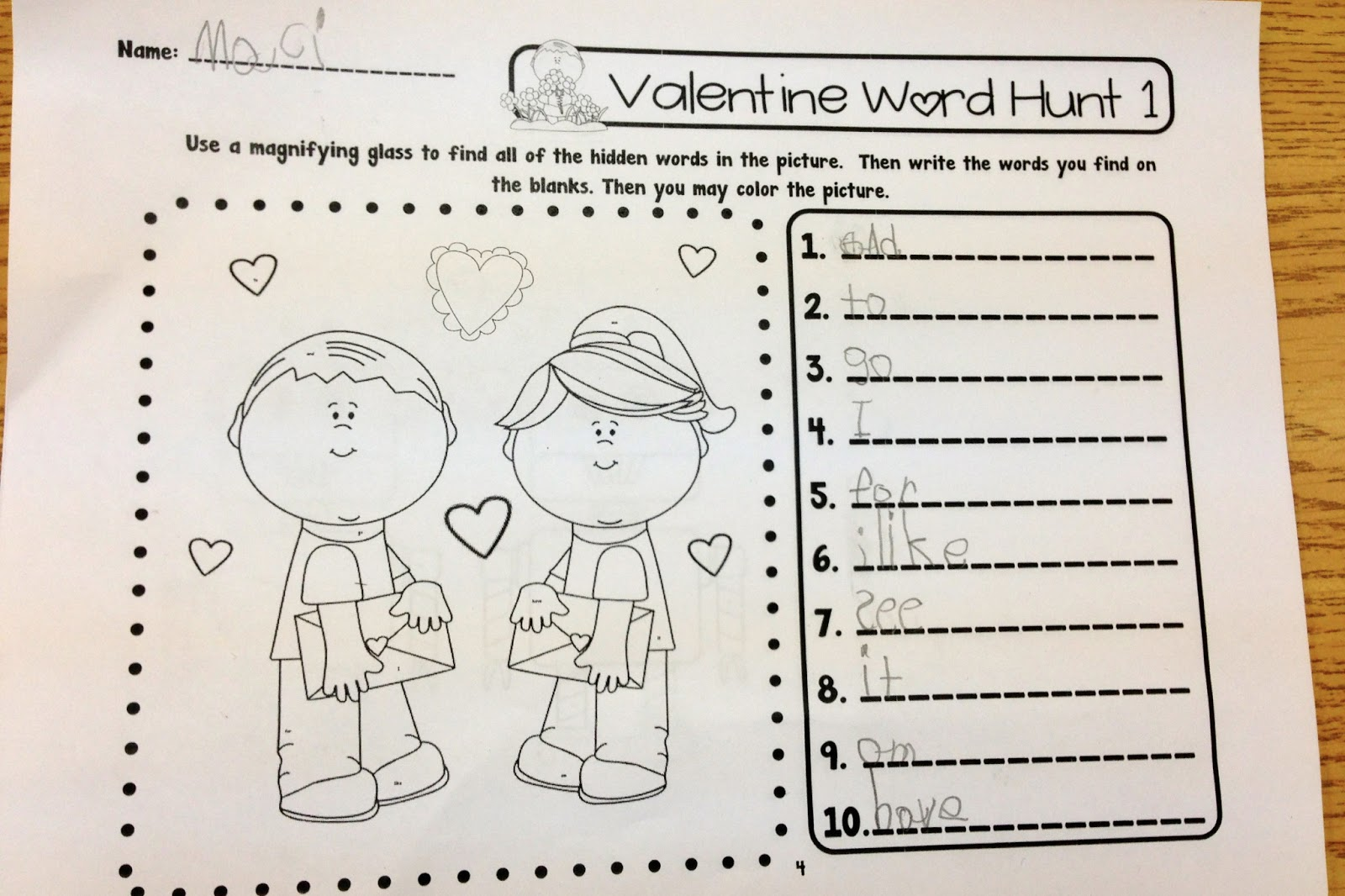 Kindergarten Hopefuls Spreading The Love On Valentine S Day