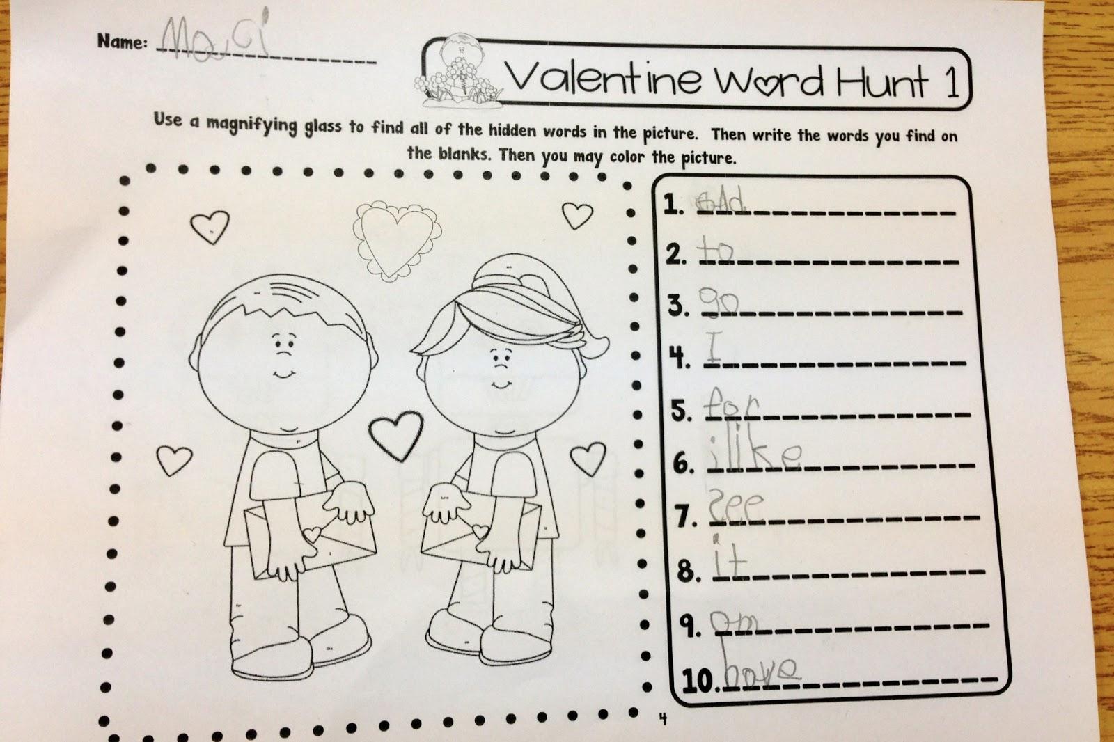 Kindergarten Hopefuls Spreading The Love On Valentine S Day