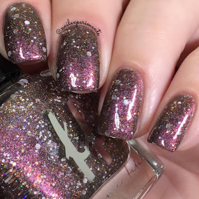 Femme Fatale Treesong swatch from the Fire Lily collection