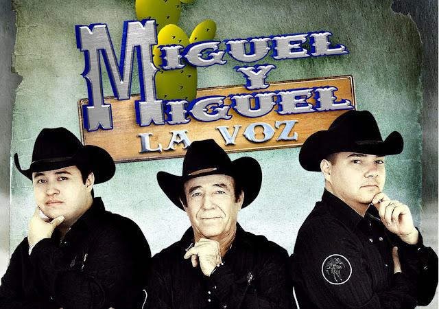 Miguel y Miguel La Voz - Por Amarte (2013) (Album / Disco Oficial)