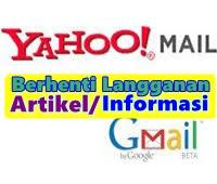 Menghentikan Email Yang Terus Masuk Di Gmail Dan Yahoo