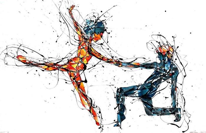Чилийский художник. Benja Wilson
