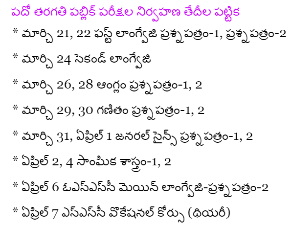 ap-ssc-time-table-2016