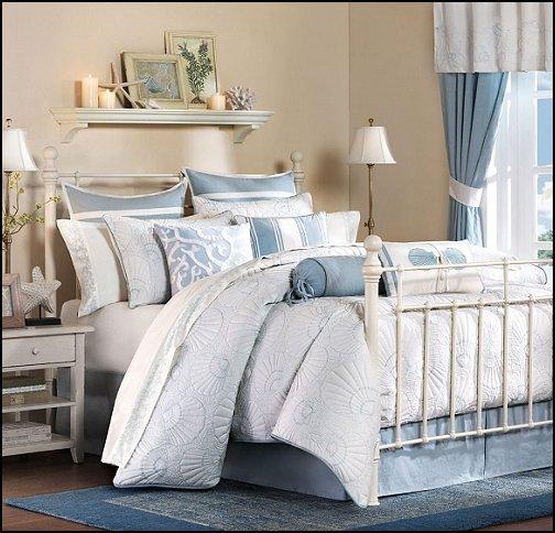 decorating theme bedrooms - maries beach bedroom