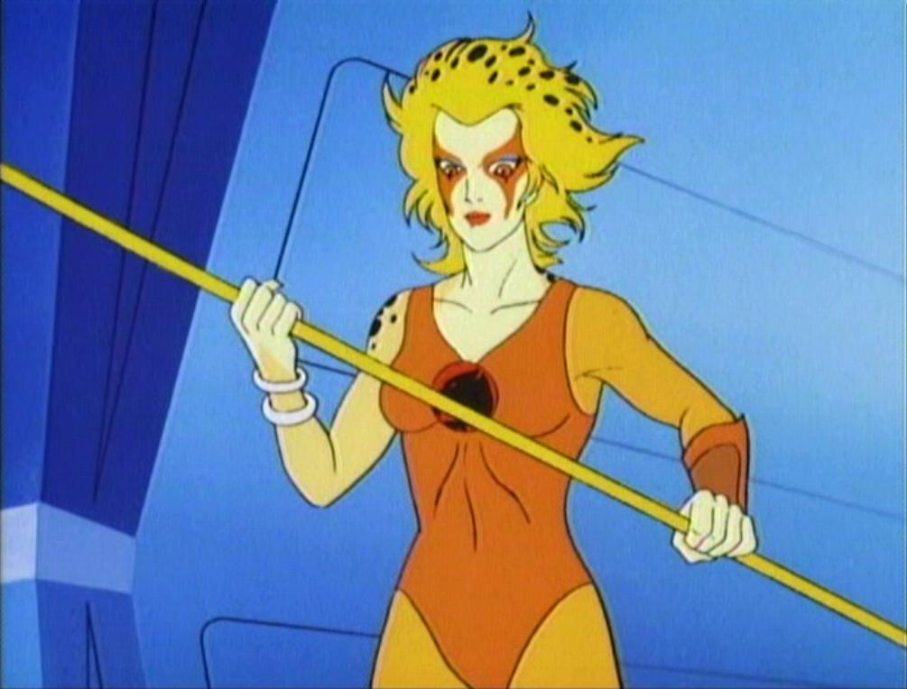 Cheetara of the ThunderCats Female Warrior