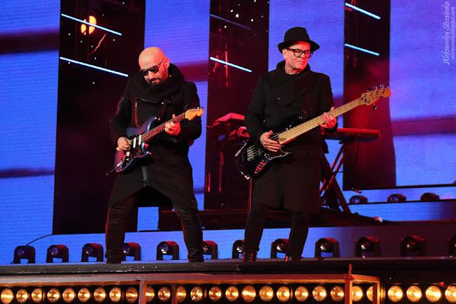 Waldemar Tkaczyk i Grzegorz Skawiński - na scenie, na żywo, koncert