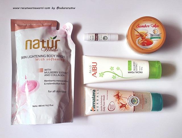 Mencoba Facial Wash