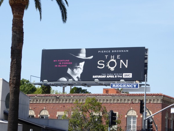 The Son series premiere billboard