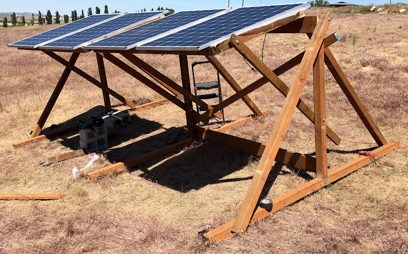 I Built A Solar Powered Off Grid Office From A Tuff Shed