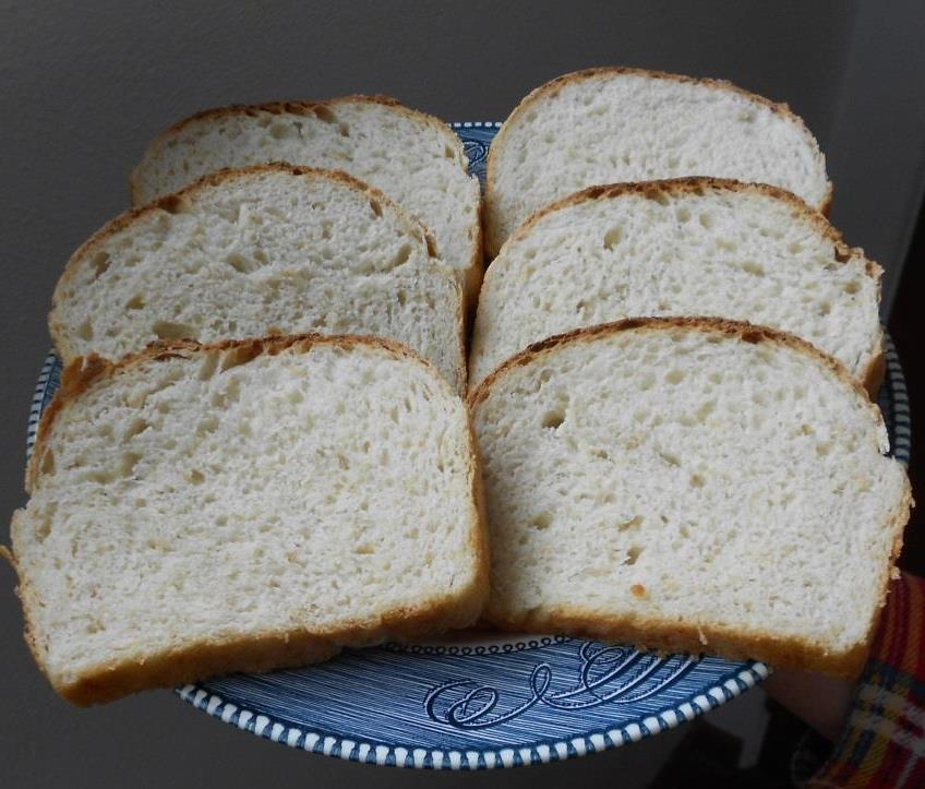 Sliced Favorite Oatmeal Bread Photo