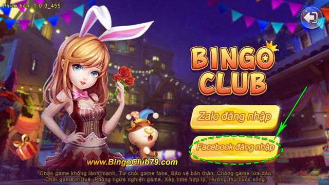 Đăng nhập Bingo Club