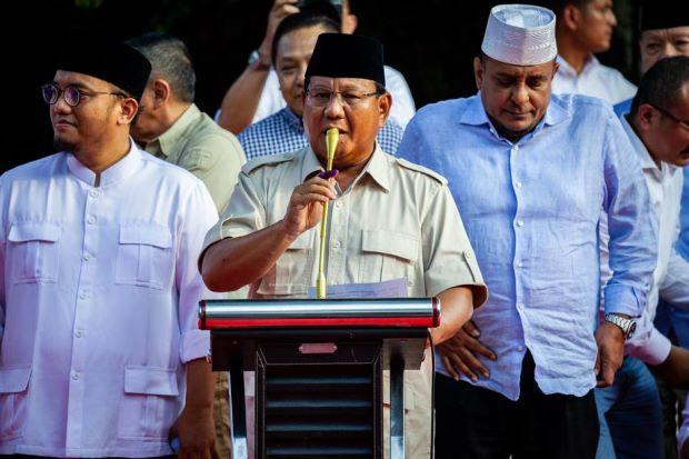 Komentar Prabowo di Depan Media Asing : Saya Tidak Akan Terima Semua Ini