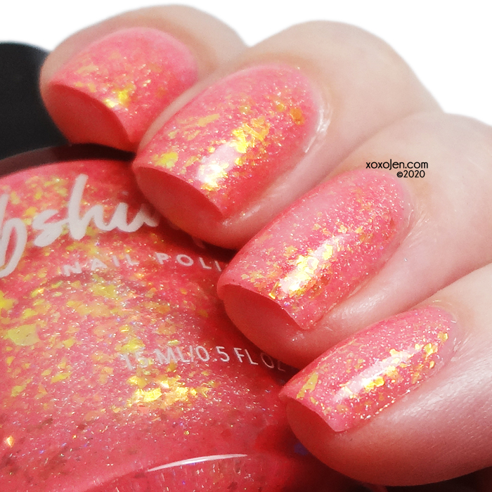 xoxoJen's swatch of KBShimmer Fruit Slices, Yummy Yummy