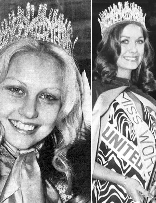 Miss World Of 1974 – Anneline Kriel