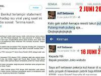 Krakatau Steel: Arif Setiawan BUKAN Karyawan Kami! Netizen: Modar!