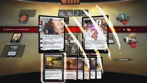 Magic Duels é a versão digital de Magic The Gathering para iPhone (iOS), também disponível para download no PS4, PC e Xbox One