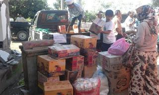 <b>Warga Perumahan Panorama Alam Salurkan Bantuan ke Korban Gempa di Pedalaman Sambelia</b>