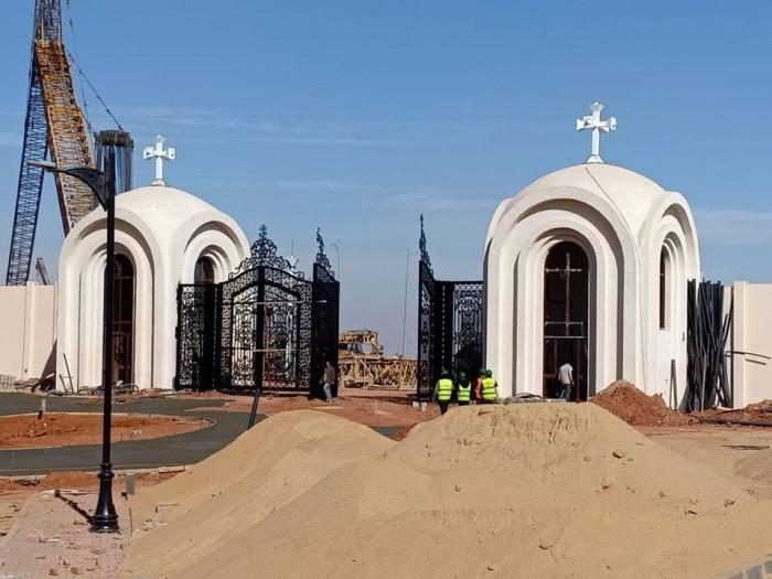 بالفيديو ** أبداع وجمال كاتدرائية ميلاد السيد المسيح بالعاصمة الإدارية الجديدة 2019 قبل قداس عيد الميلاد بأيام