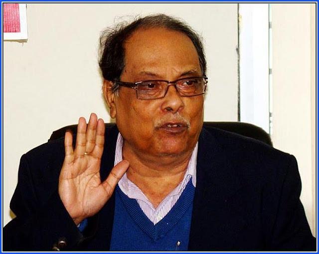 Siliguri mayor and MLA Asok Bhattacharya