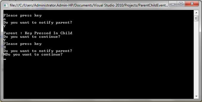 Hub of Computer Tricks and Programming: C# Notify Parent