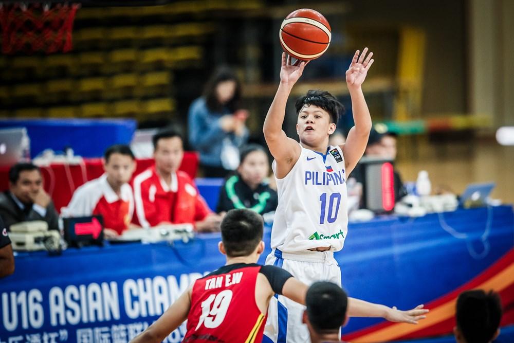 Batang Gilas subdues Malaysia at start of FIBA Asia U16 Championship