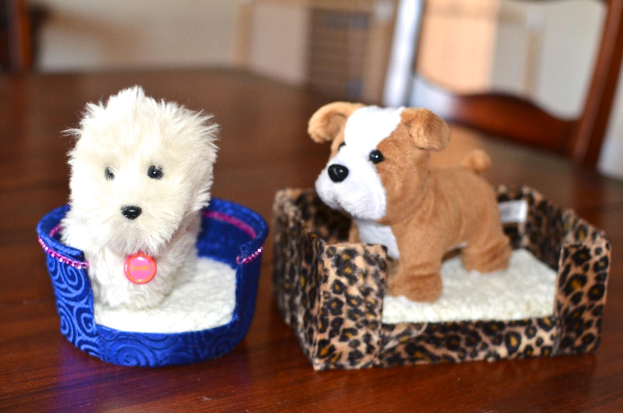 CC's Doll Swag & DIY: DIY AG doll DOG/Pet BEDS