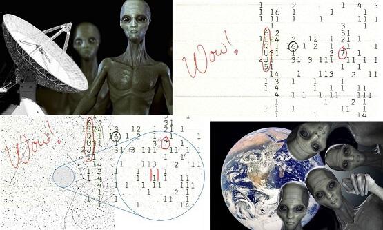 Uzaydan Gelen Gizemli Sinyal : Wow!
