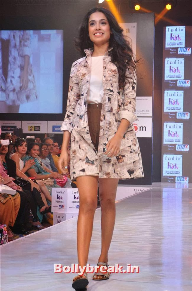 Sarah Jane Dias, Celebs at India Kids Fashion Week 2014