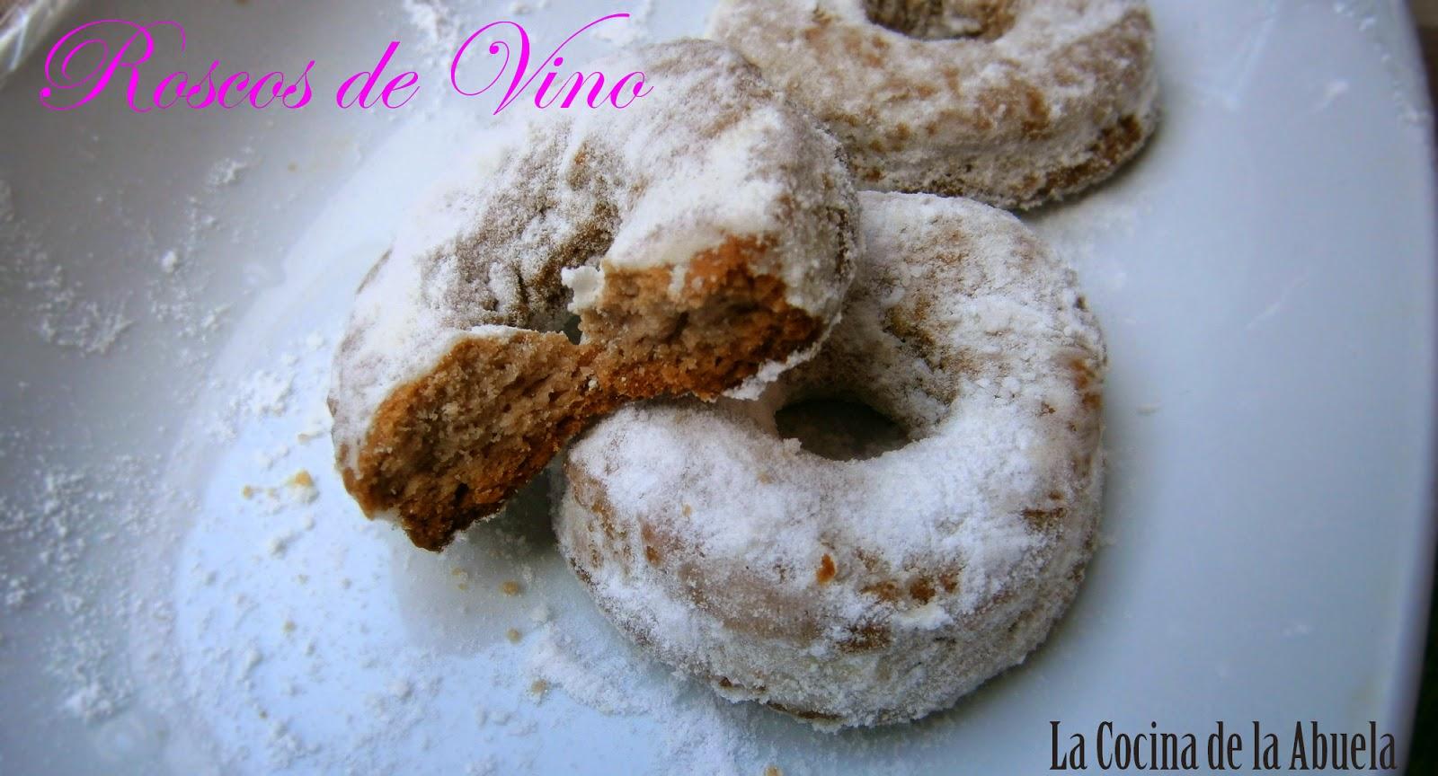 Roscos de Vino.