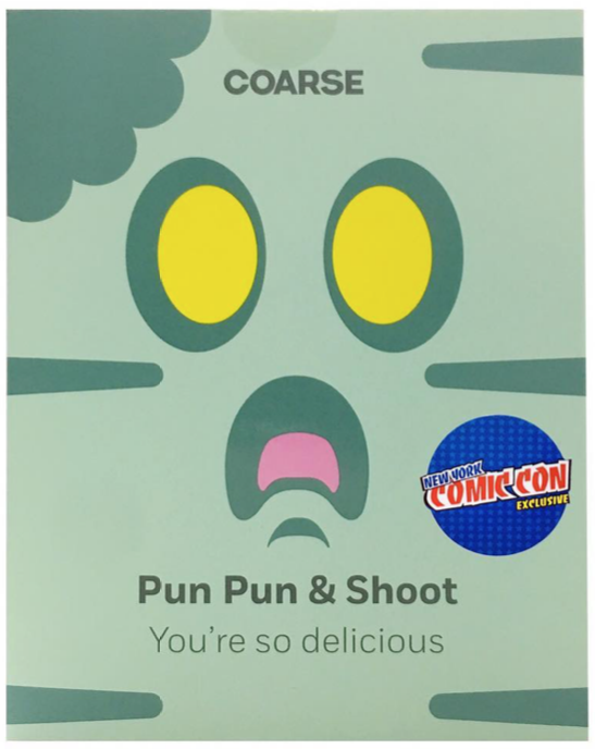 coarsetoys Pun Pun And Shoot 4' You're So Delicious Nycc Exclusive