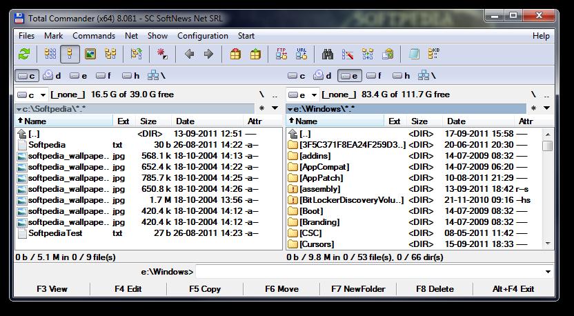 Total Commander 8.0 final - software download new