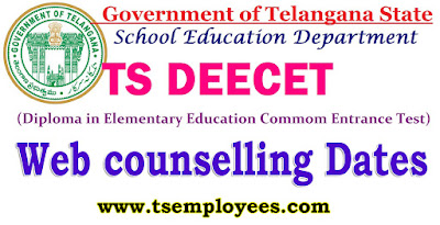 TS DEECET 2017 Web counselling Dates Phase I How to give web options