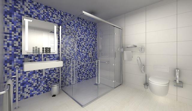 baño adaptado para discapacitados