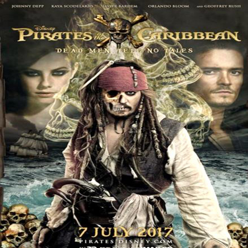 Pirates Of The Caribbean 5: Dead Men Tell No Tales Poster Film, Film Pirates Of The Caribbean 5