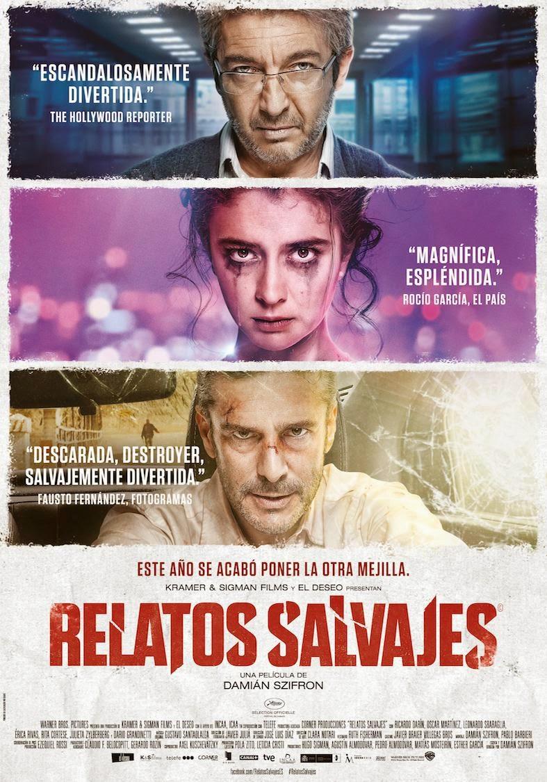 Póster de 'Relatos salvajes' (Damián Szifron, 2014)