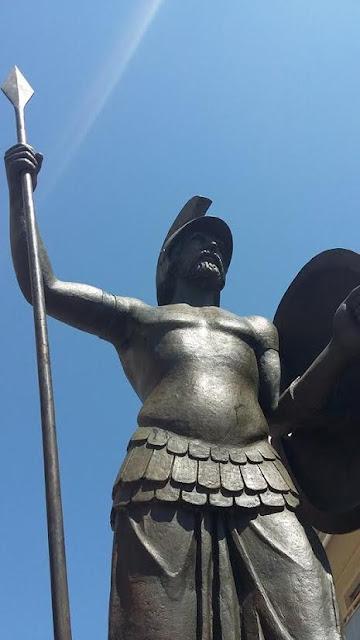 """Αποτέλεσμα εικόνας για αγαλμα επαμεινωνδα θηβα"""""""