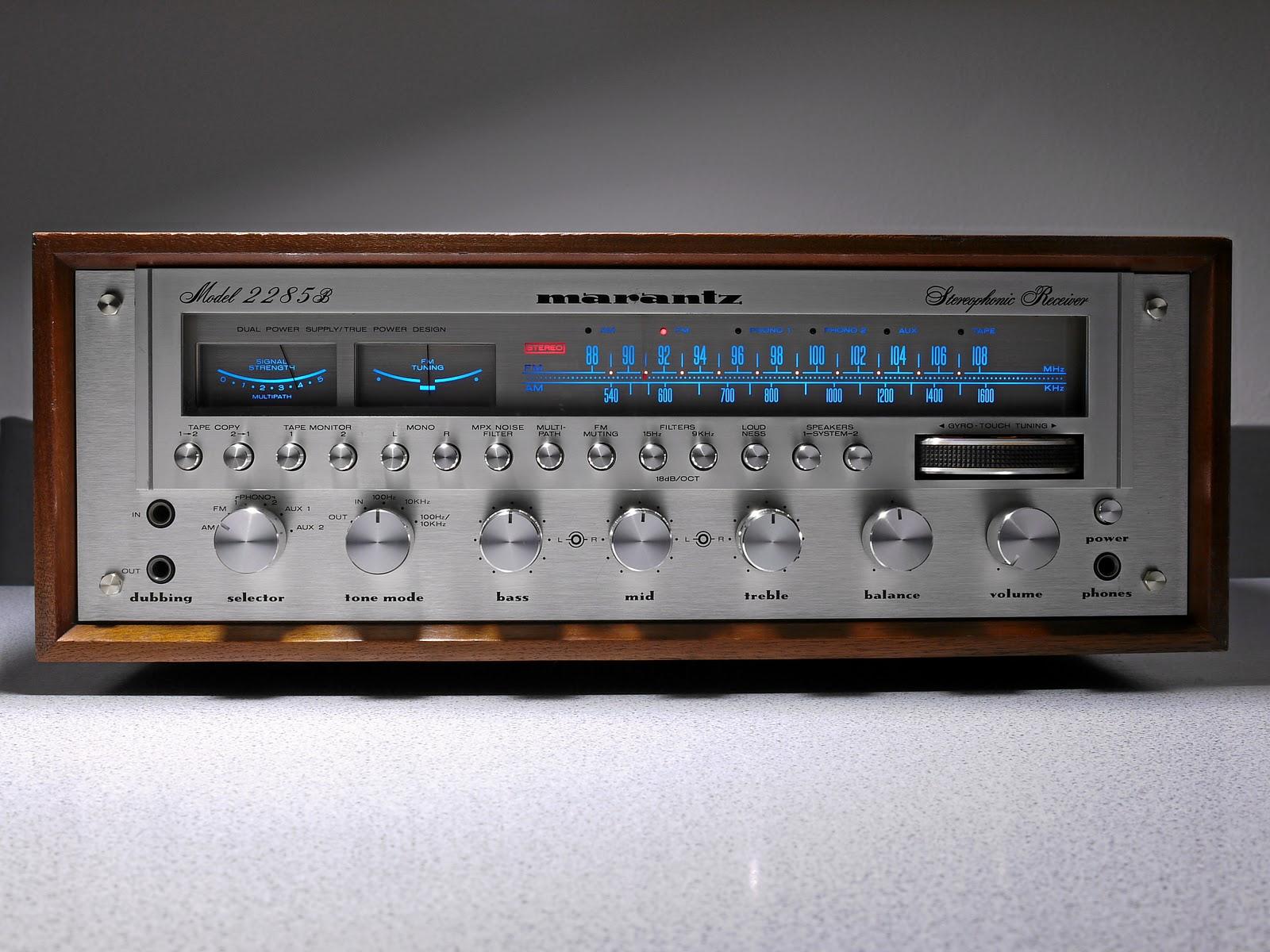 Best Vintage Stereo Receivers 75