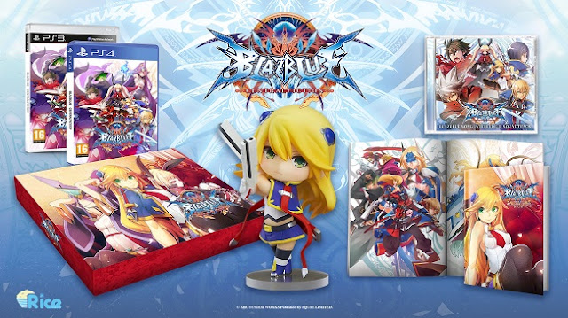 Actu Jeux Video, BlazBlue : Central Fiction, Collector, Playstation 3, Playstation 4, Rice Digital, Jeux Vidéo,