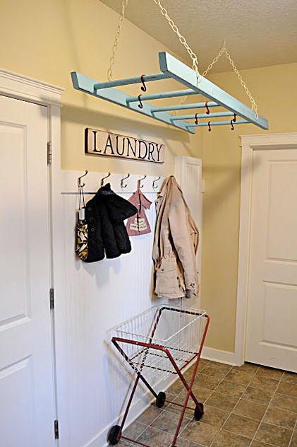 Lair art decor: cuarto de lavado en cinco pasos.