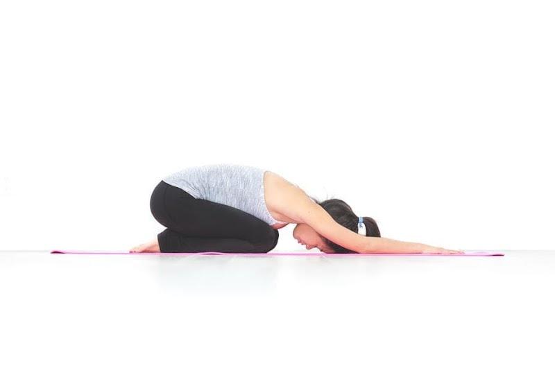 बालासन योगासन - Balasana Yoga